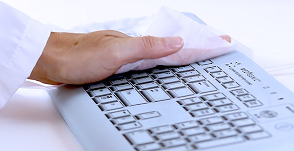 Washable easy to clean keyboard
