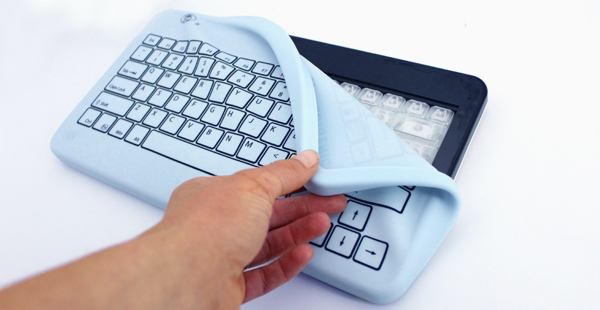 soft silicone keyboard cover allows fast touch typing
