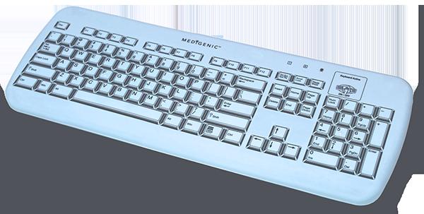 Medigenic essential infection control keyboard