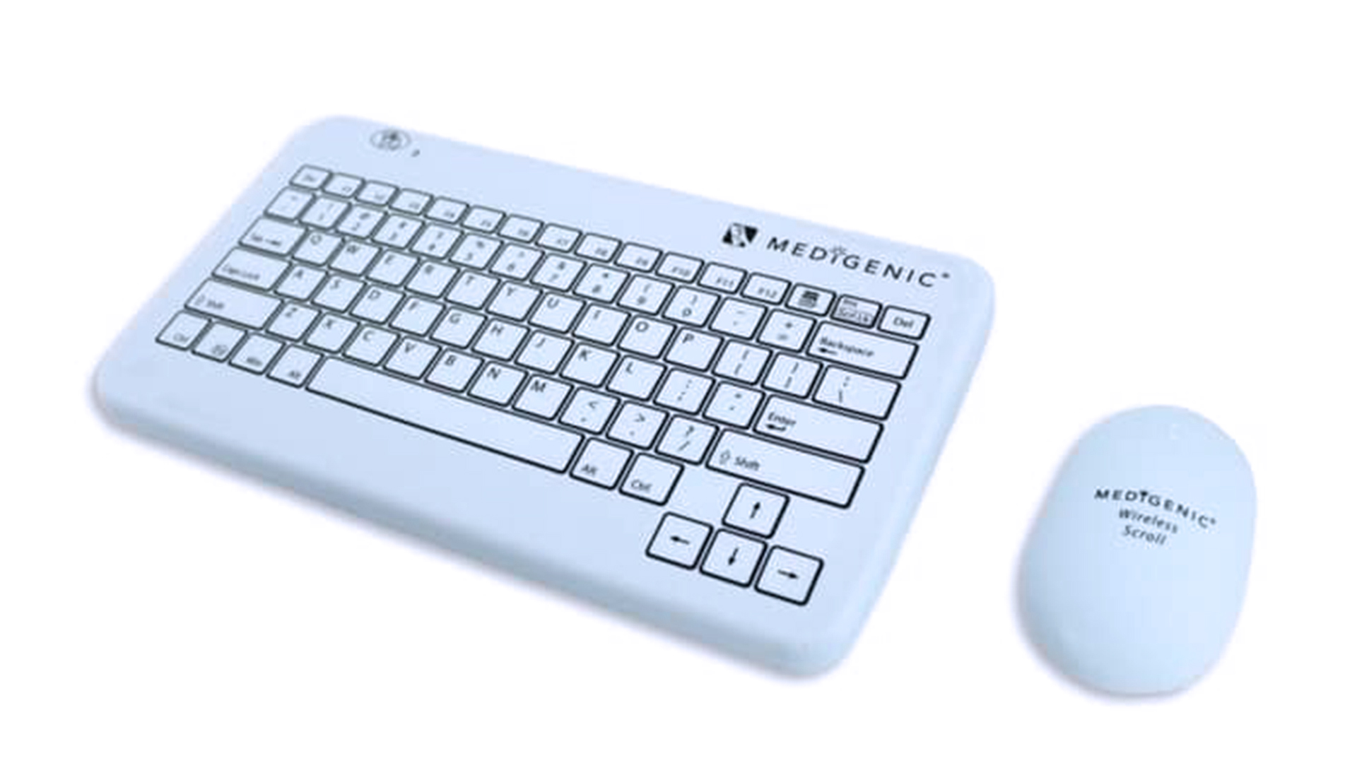 Washable wireless keyboard and mouse