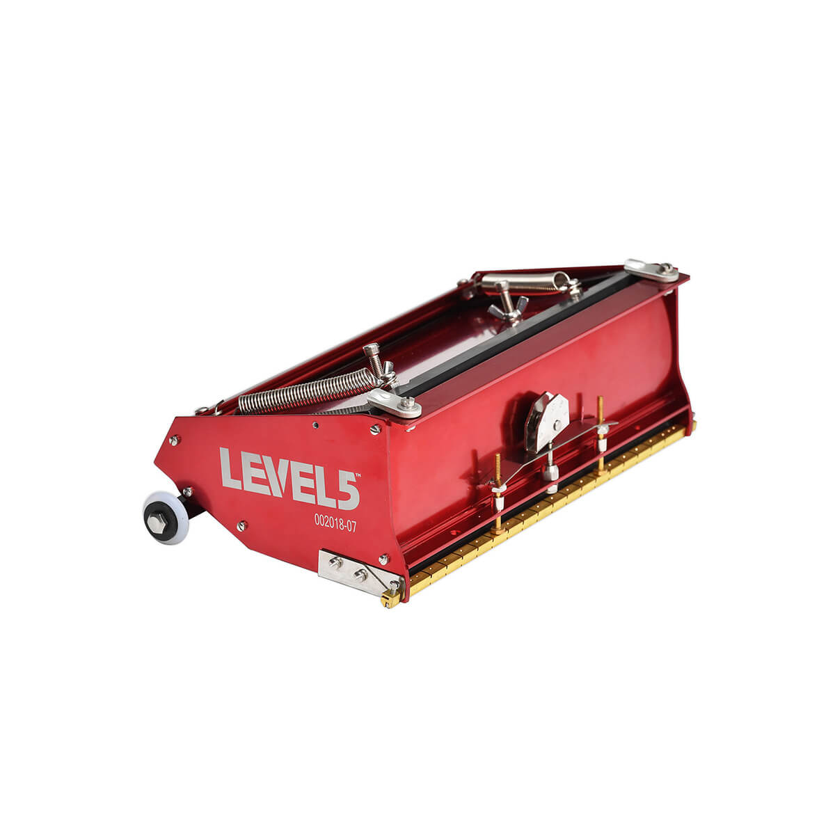 A LEVEL 5 Tools Standard 10-Inch Drywall Flat Box