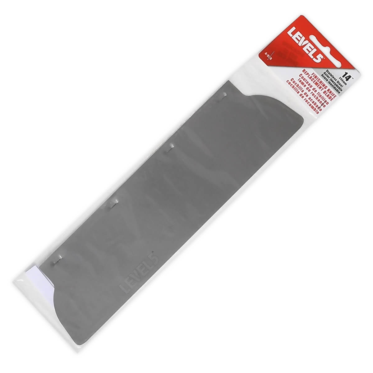 LEVEL5 14-Inch Drywall Skimming Blade Insert | 4-950