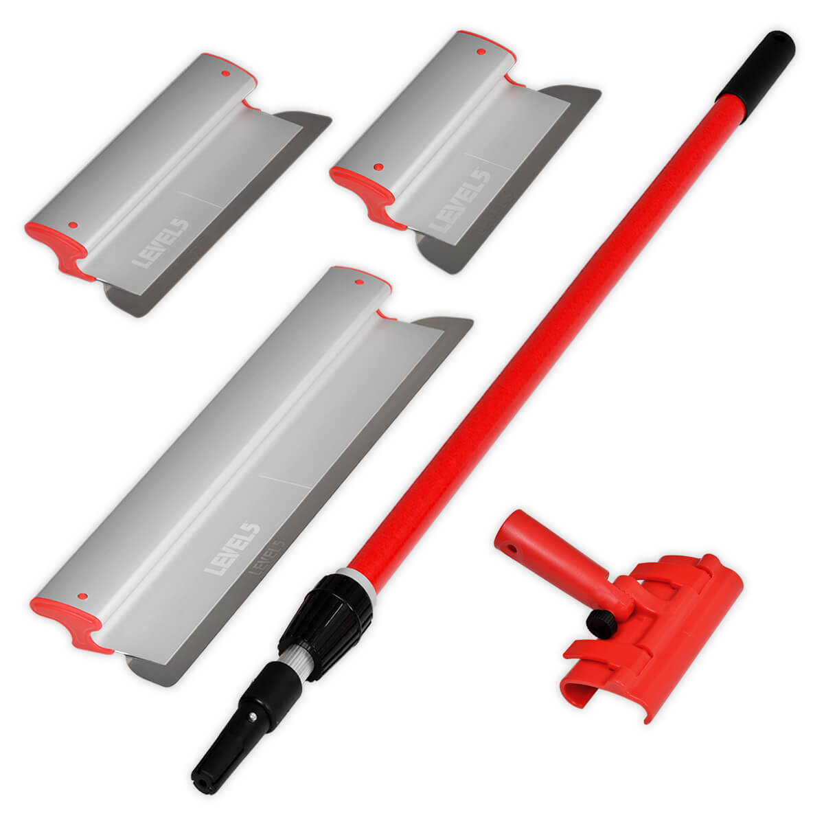 L5 10/16/24 Inch Skimming Blade Set with Med. Handle & Adapter | 5-440