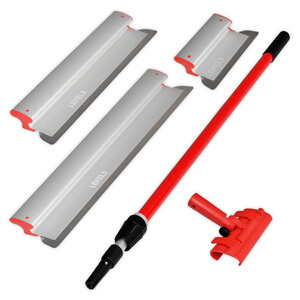 Drywall Skimming Blade Set - 10/24/32 Inch + Handle | LEVEL5