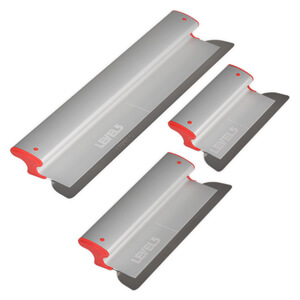 LEVEL5 Drywall Skimming Blade Set | 10/16/24 Inch Blades | 5-443