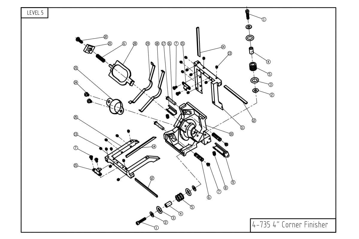 LEVEL5 4-Inch Corner Finisher