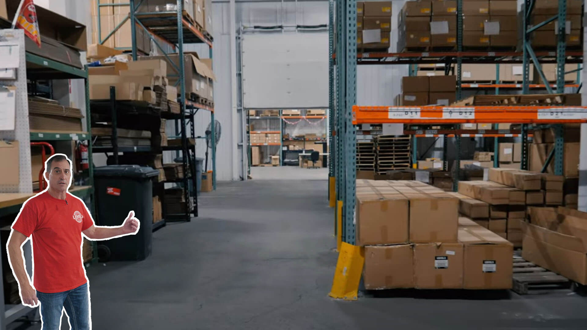 LEVEL5 Warehouse Walkthrough