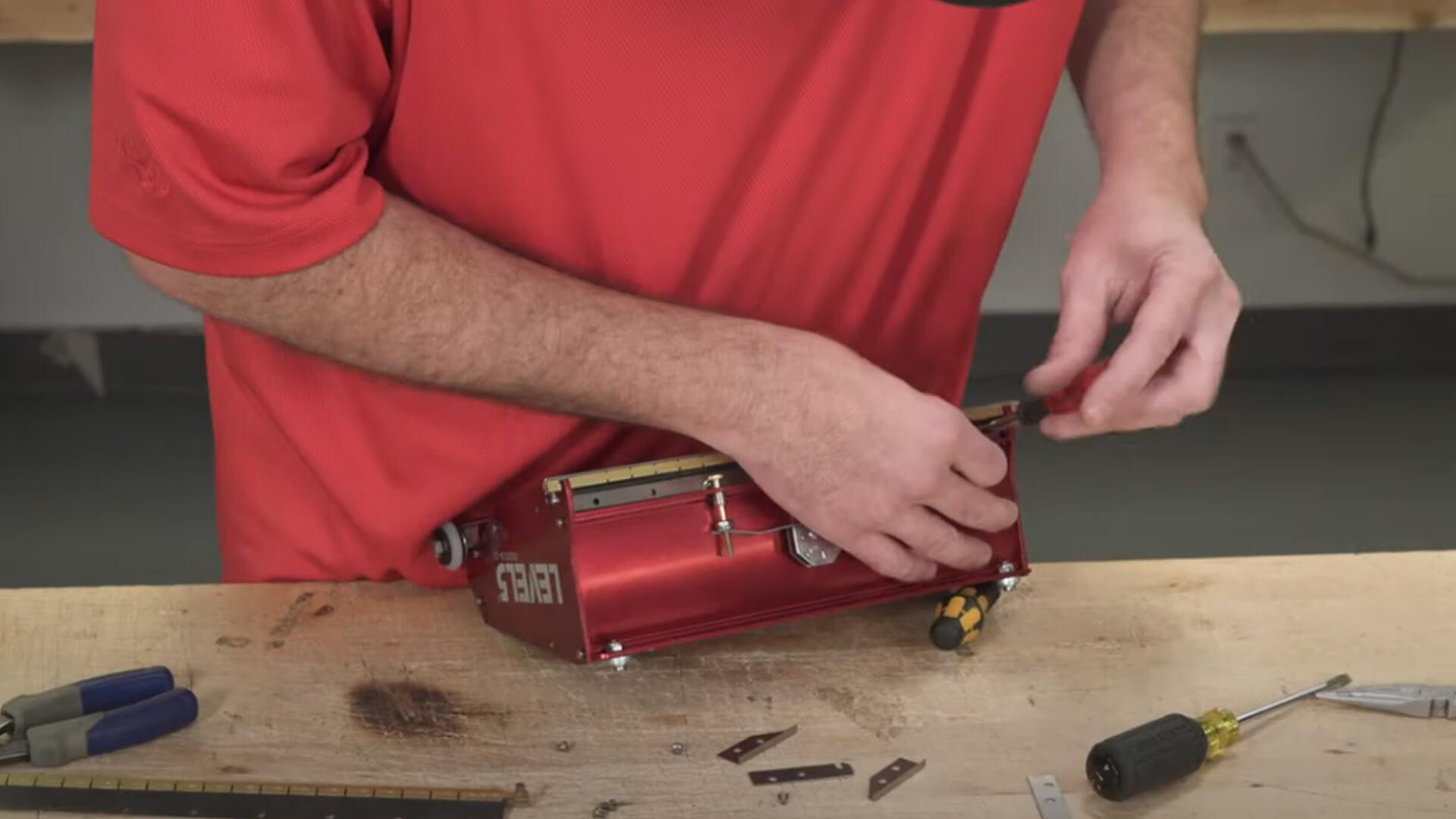 Flat Box Brass Blade Holder Replacement