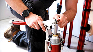 How to Set Up a Drywall Compound Pump