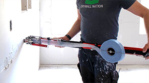 How To Tape Walls & Ceilings With an Automatic Taper   LEVEL5