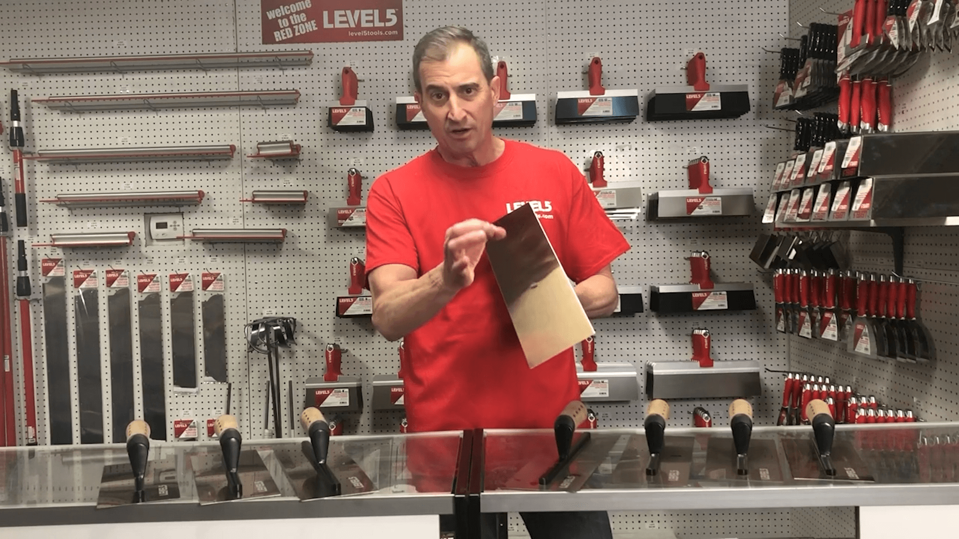 Curved Drywall Trowels by Level5 Tools