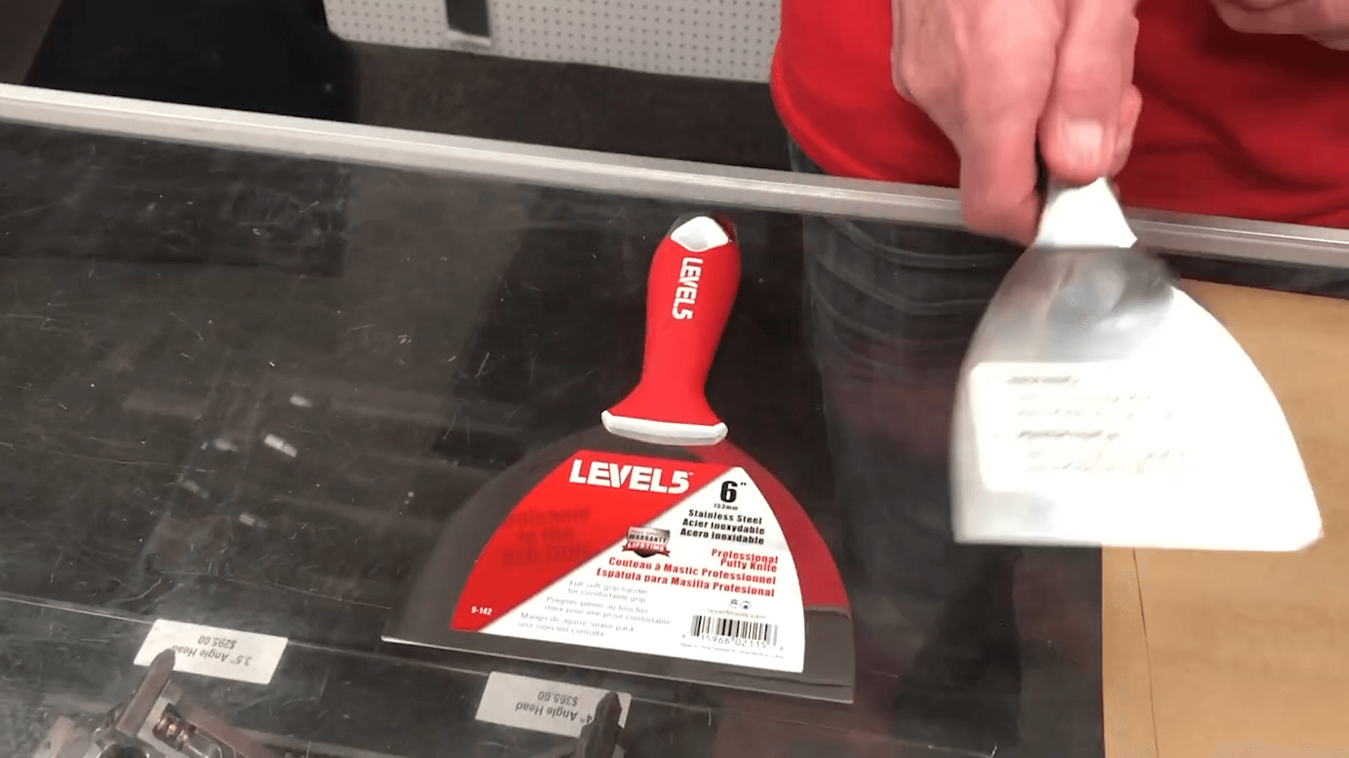 How Level5 Tools Makes Drywall Joint Knives