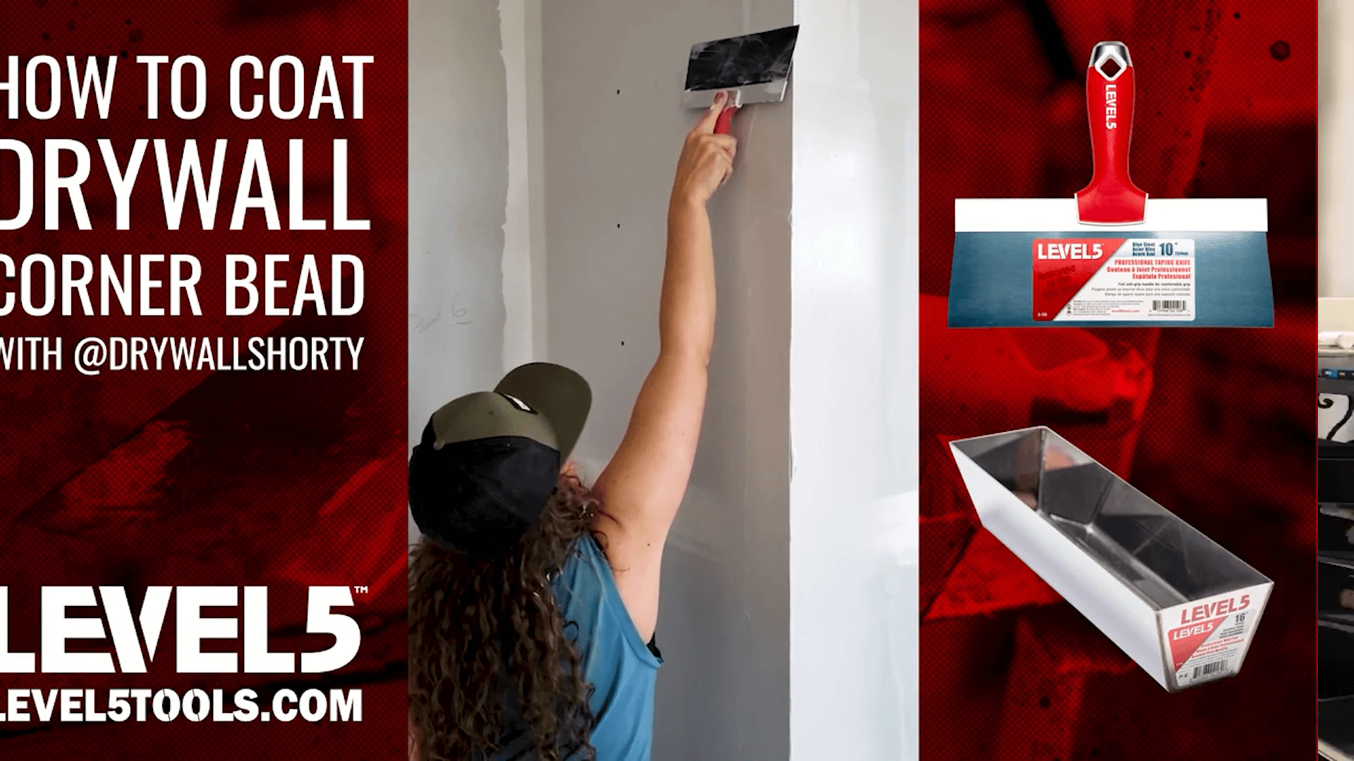 How to Coat Drywall Corner Bead | Drywall Shorty