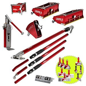 L5 Drywall Finishing Set | 10/12-Inch Boxes + Handles | 4-603