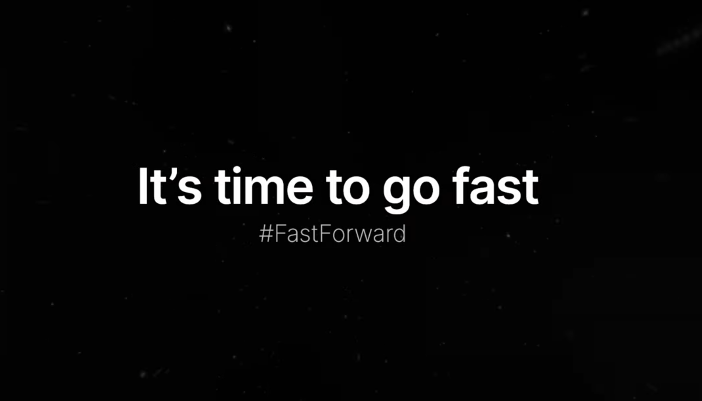 #FastForward - Fast Launch Event