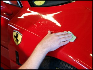 Red Ferrari Why Use 3M Paint Protection Film Car Care