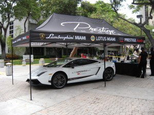 Lamborghini for Ride to Revive Childrens Charity