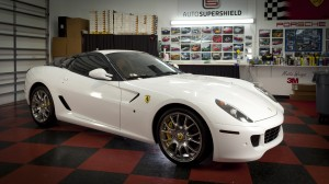 Ferrari 599 Color Change Wrap - Completed Installation Photo