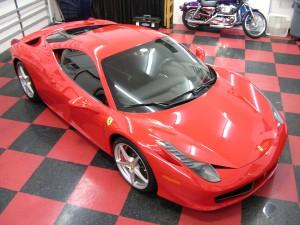 Ferrari 458 Italia at Auto SuperShield
