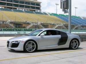 Audi R8 at Homestead Race Track