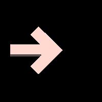 illustration of an arrow pointing a gear.