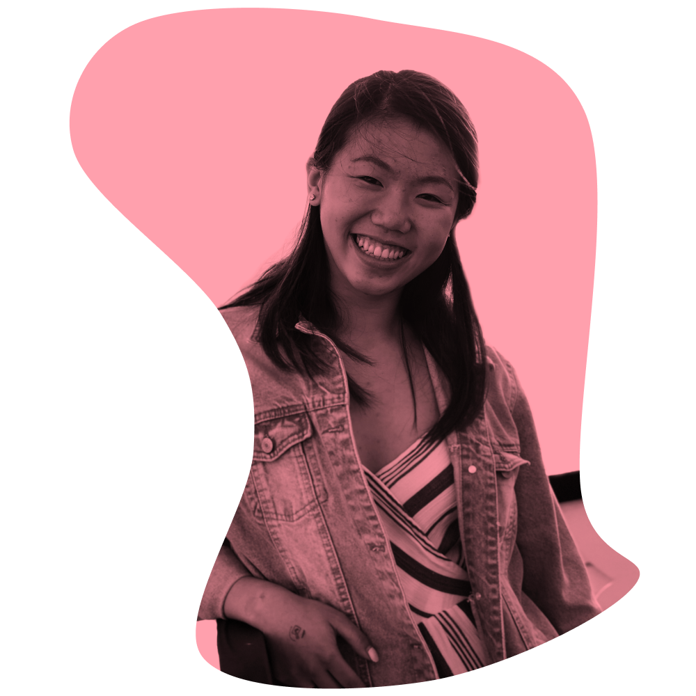 Photo of our recent intern Shannen Wu
