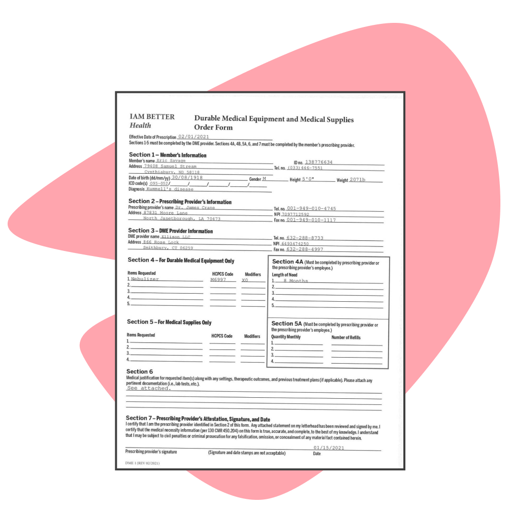 How to automate order form intake for medical devices using OCR and Impira AutoML