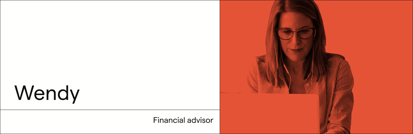 Wendy, a financial advisor using Impira's system to process files and support clients.
