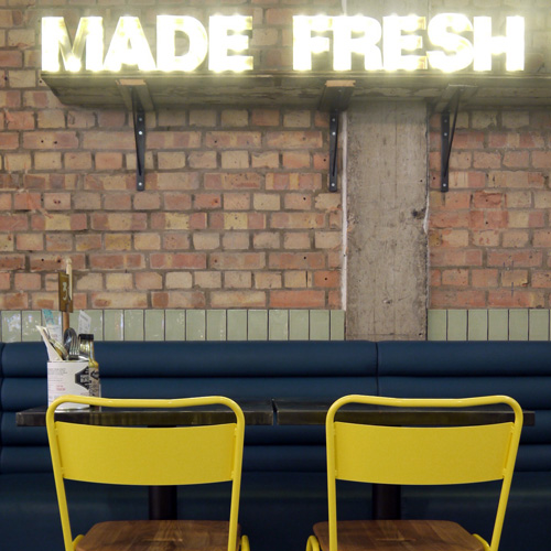 Handmade Burger Company, Newcastle Upon Tyne