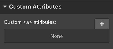 Custom HTML attributes in Webflow