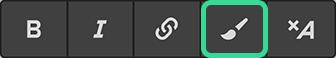 Inline text formattin in Webflow