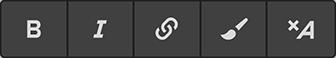 Inline text formatting in Webflow