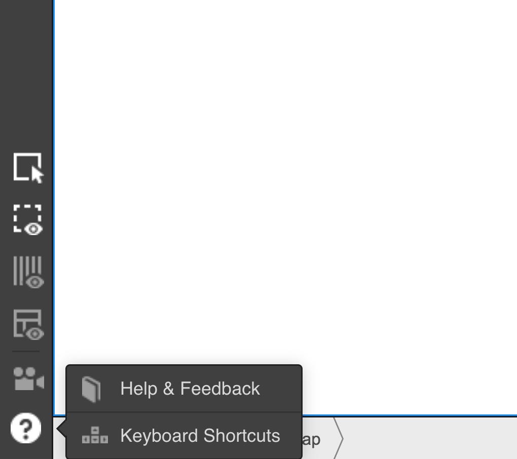 Access the Webflow keyboard shortcuts