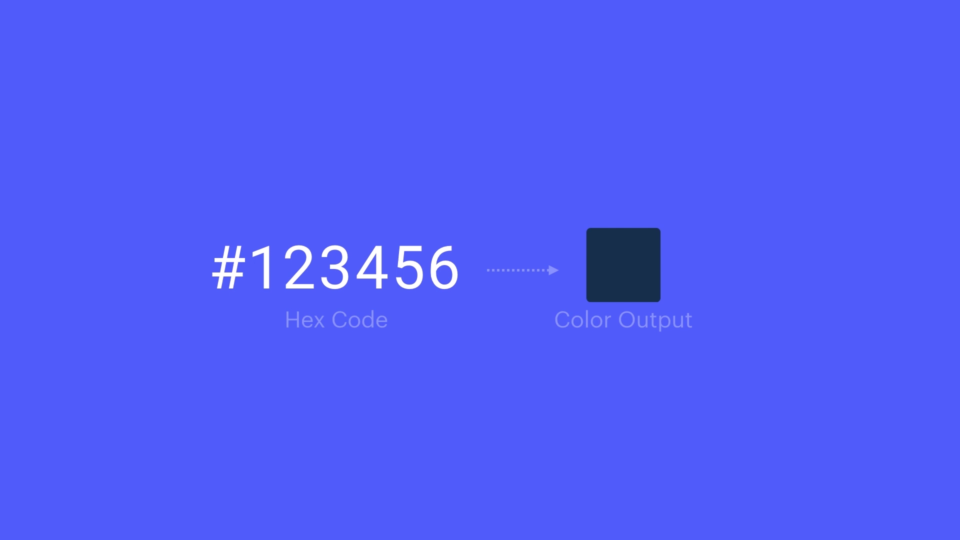 Hex colors