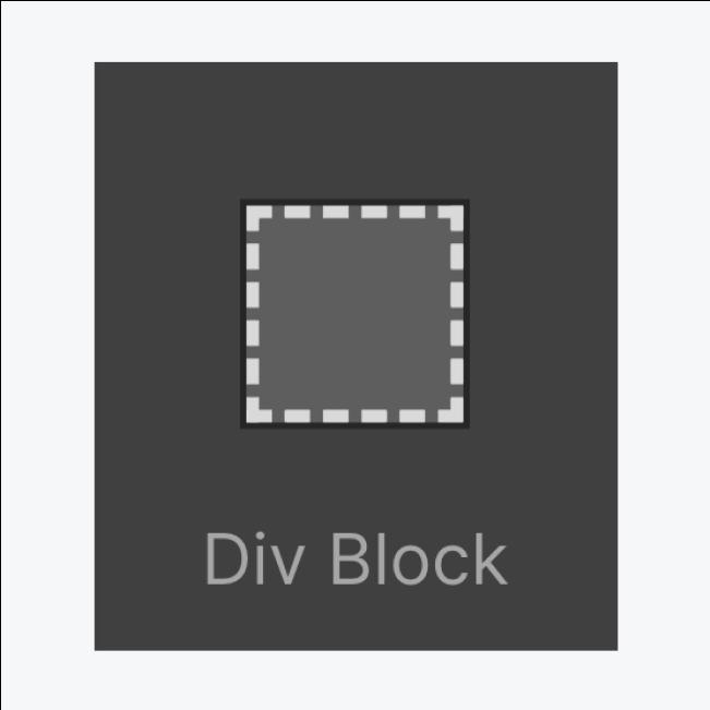 Div block icon thumbnail