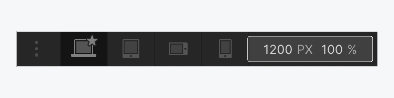 The Canvas settings at the top of the Webflow Designer are highlighted.