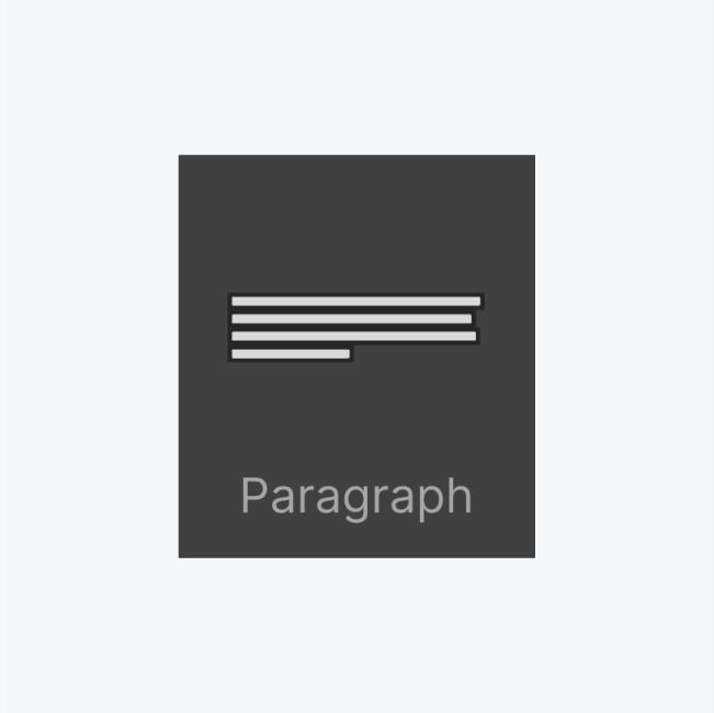 Paragraph icon thumbnail