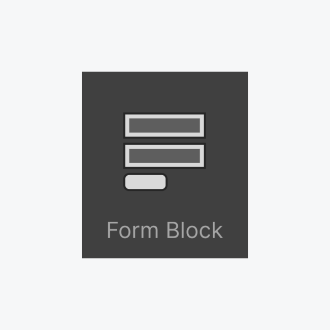 Form block icon thumbnail