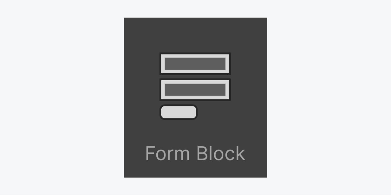 Form block icon thumbnail