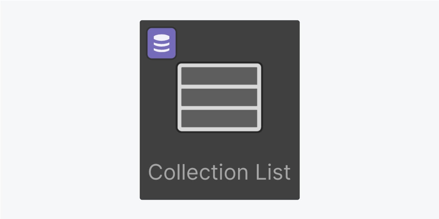 Collection list icon thumbnail