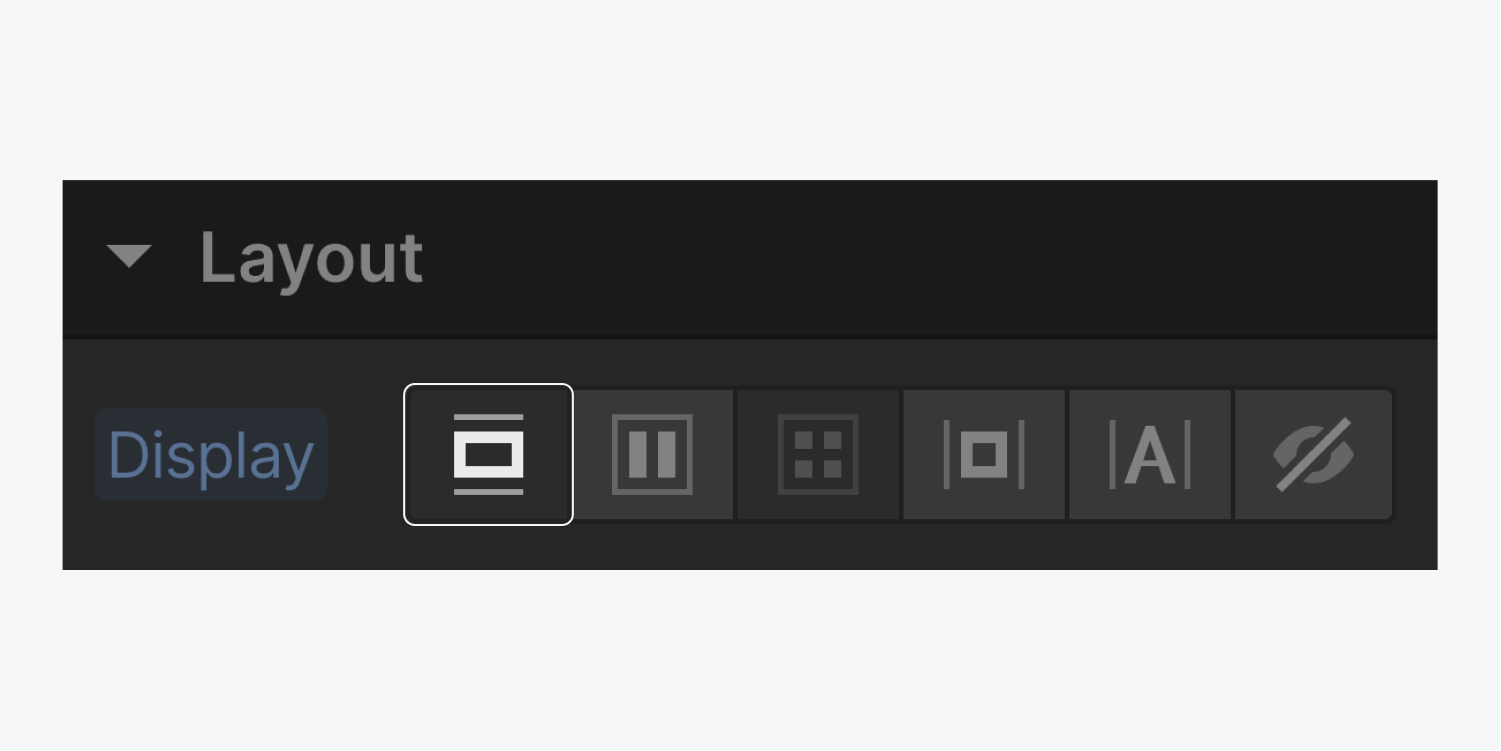 The block button in the display settings is highlighted.