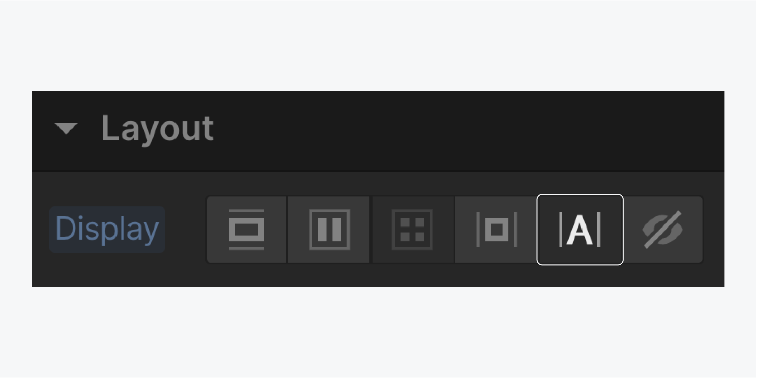 The inline button in the display settings is highlighted.