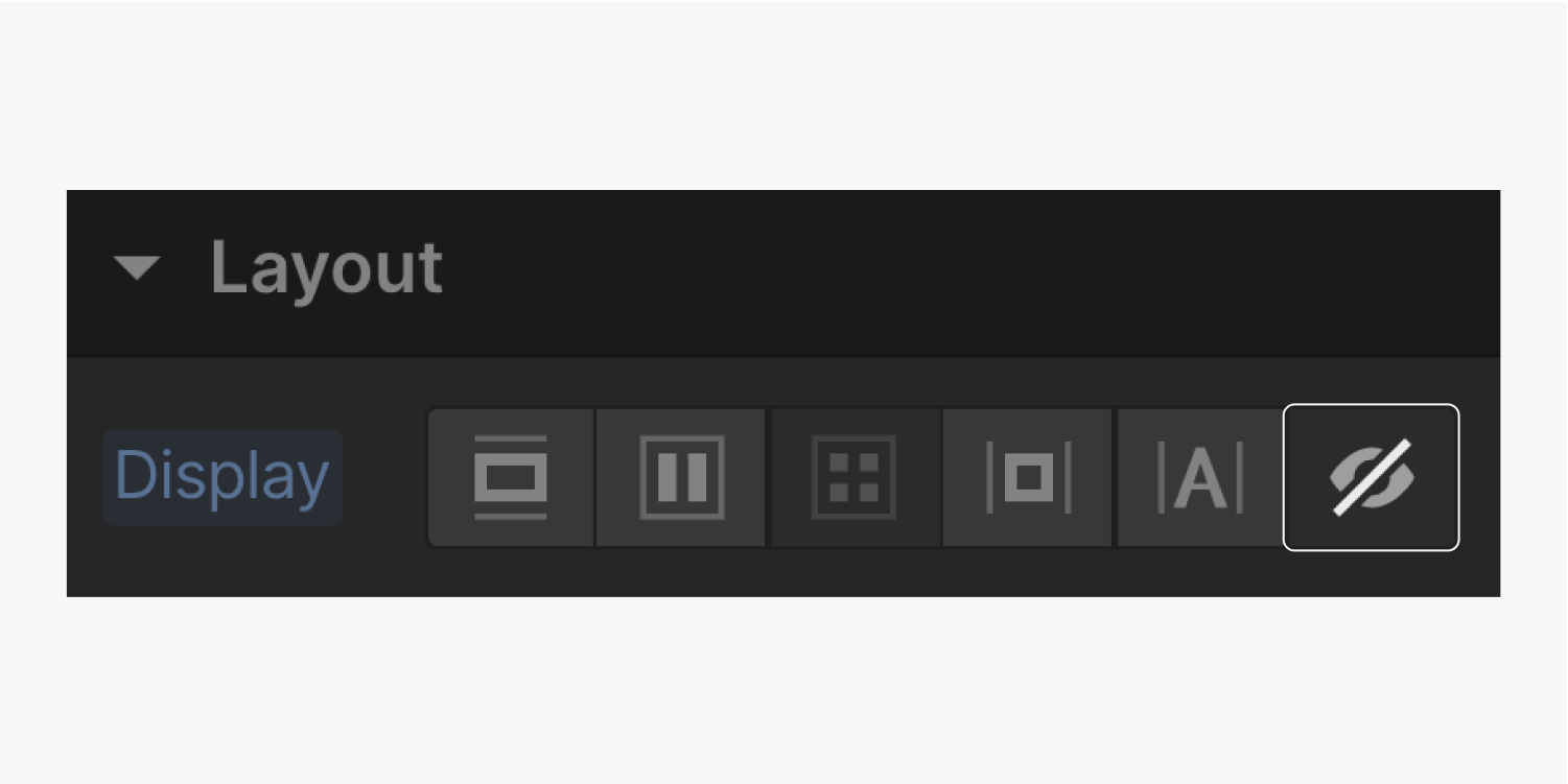 The none button in the display settings is highlighted.