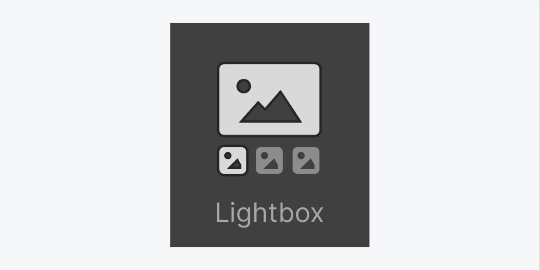 Lightbox icon thumbnail