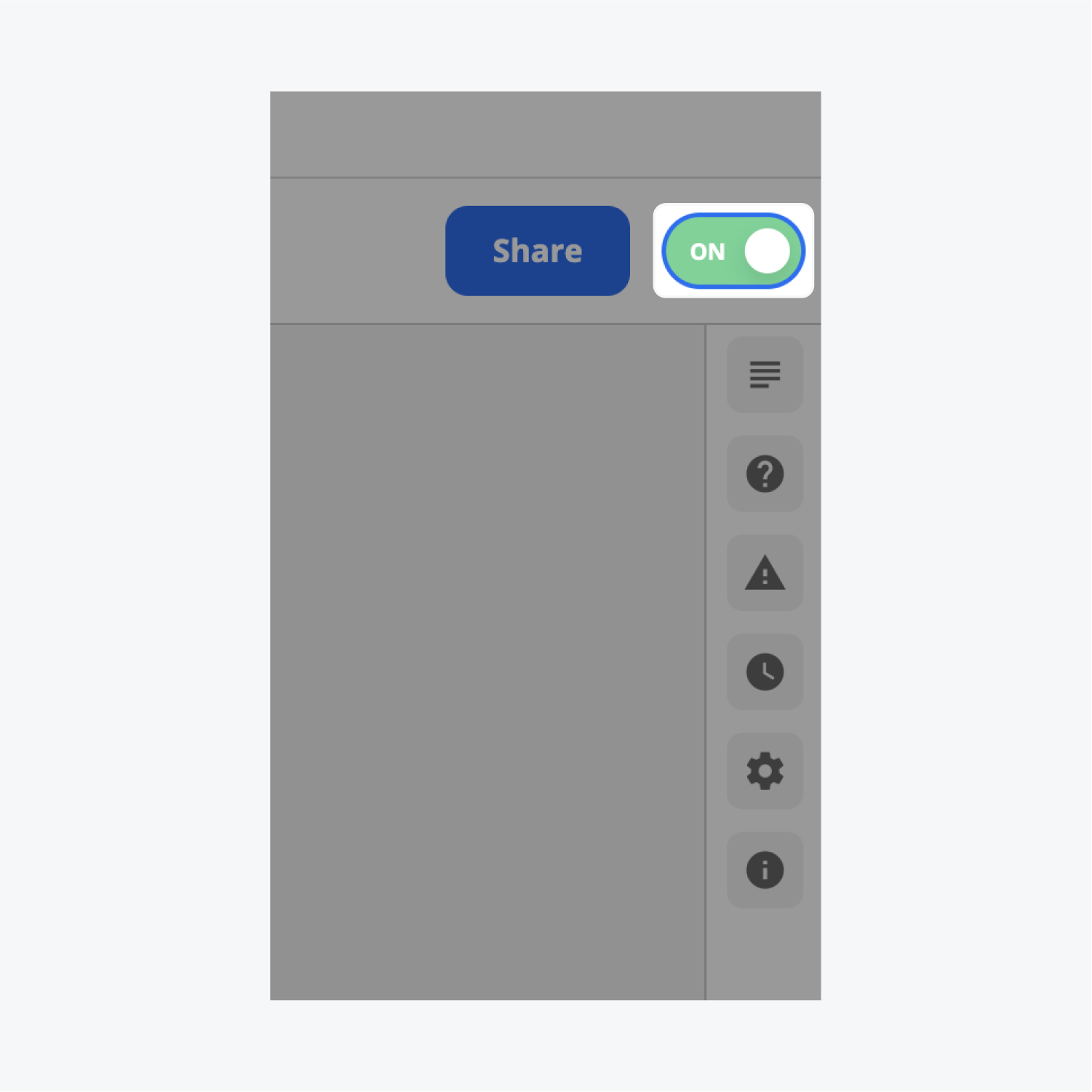 The on and off switch for the Zap created is turned on. The switch button is green and says ON.