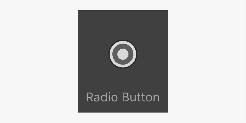 A thumbnail of the Radio Button element icon.
