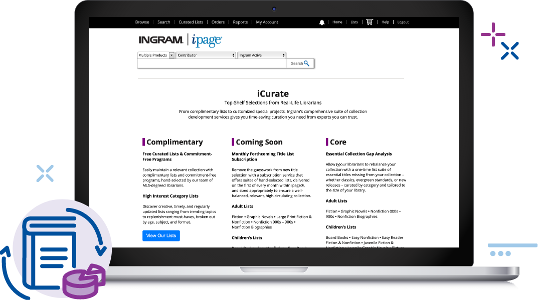 Ingram Library Services: Schedule a Demo