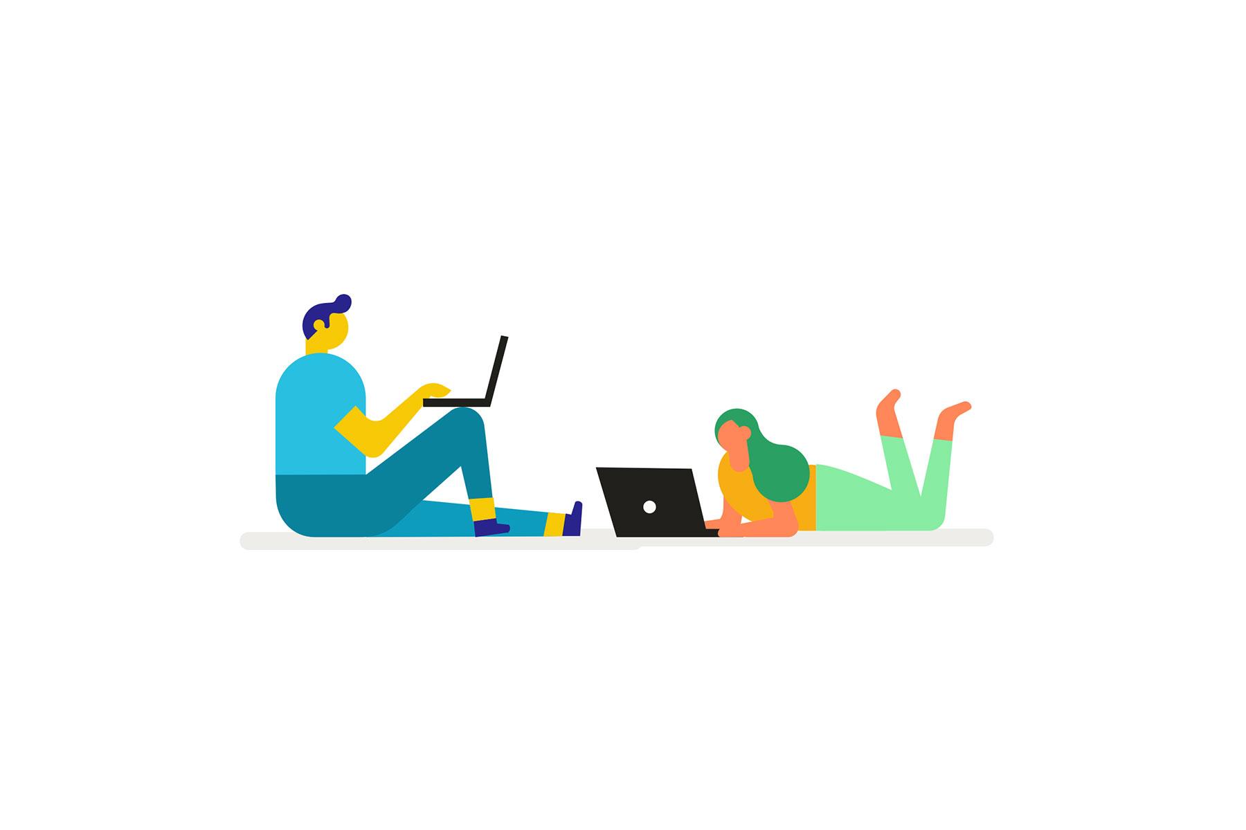 freelancers making friends