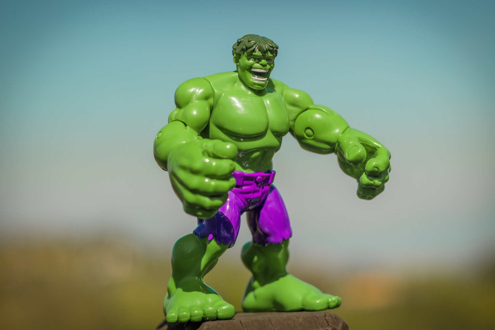 Incredible hulk figurine symbolizing the effort to control overconfidence bias