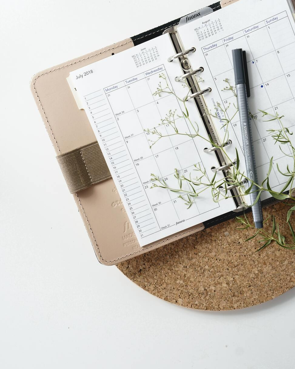 Using a planner has been linked to increased productivity
